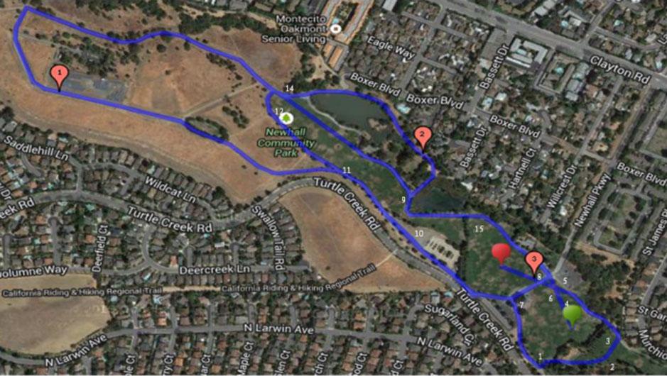 NewhallParkcoursemap-2
